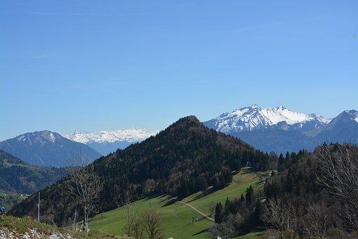 Mountain Landscape, Mountain, High Mountain, Panorama