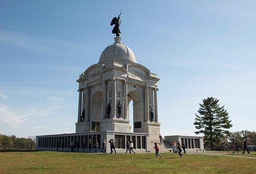 Gettysburg, Pennsylvania, Battlefield, Civil, War, Park