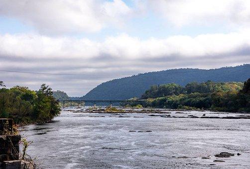 Harper's Ferry, Park, River, Potomac, Scenic, Water