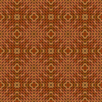 Mosaic, Triangle, Symmetry, Kaleidoscope, Tile, Pattern