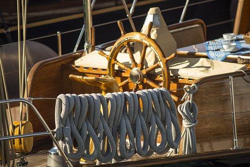 Saint Tropez, Sail, Port, Water, Lake, Boot, Knot