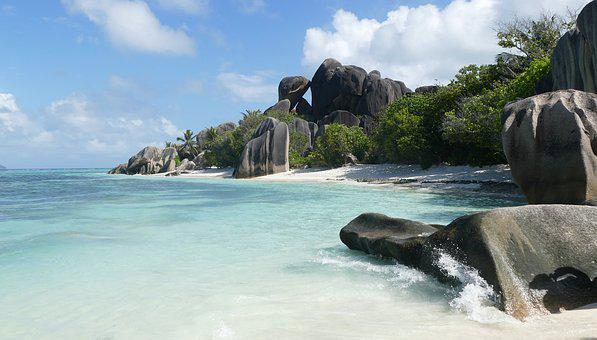 Seychelles, Beach, Sea, Indian Ocean, Island