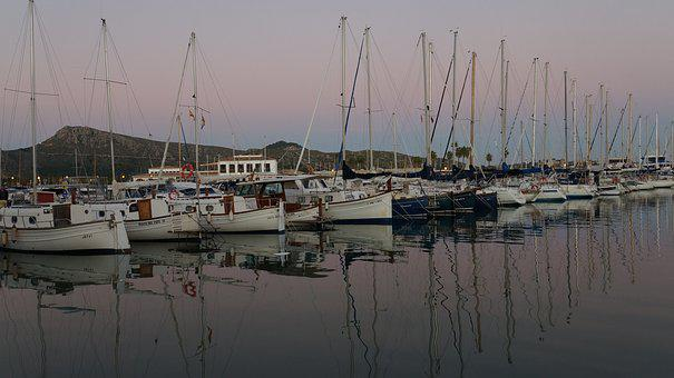 Boat Harbour, Puerto, Sailing Vessel, Port, Summer