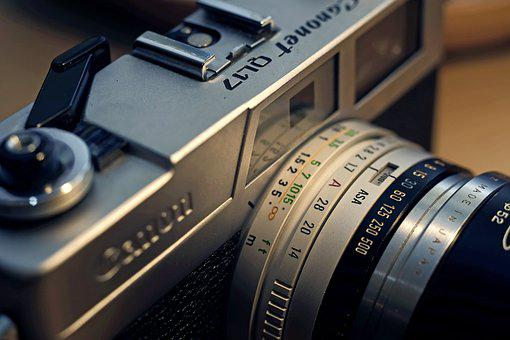 Camera, Old, Retro, Film, Vintage, Lens, Technology