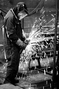 Welding, Industry, Steel, Mask, Welder, Engineering