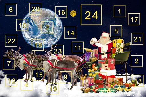 Advent Calendar, Advent, Gifts, Surprise, Nicholas