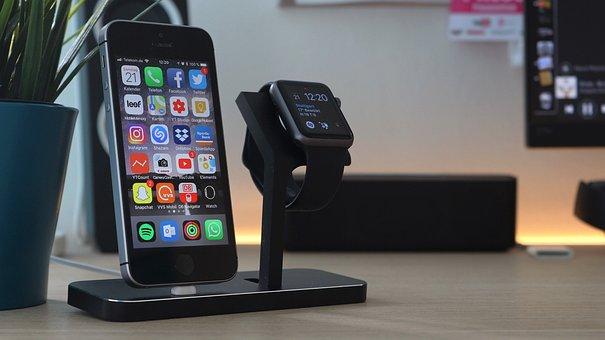 Dock, Apple Watch Dock, Iphone Dock, Stilgut, Iphone Se
