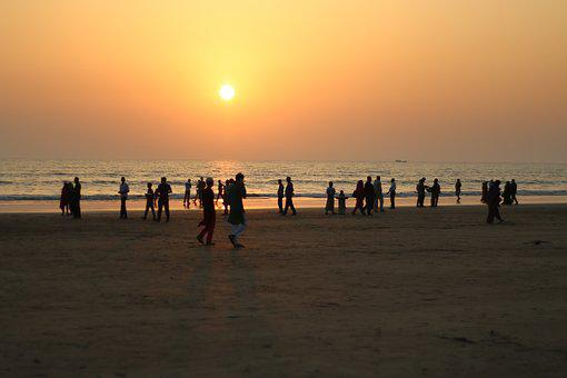Cox's Bazar, Sunset, Beach, Bangladesh, Chittagong