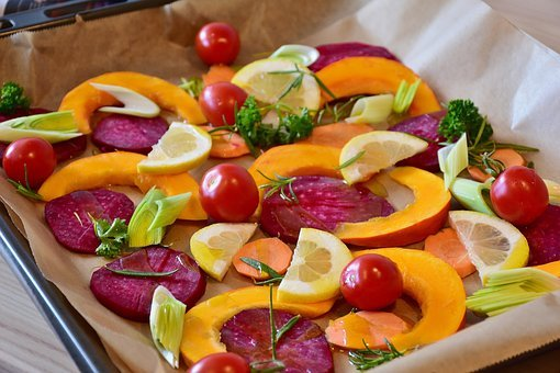 Vegetables, Pumpkin, Beetroot, Hokkaido, Lemon, Leek