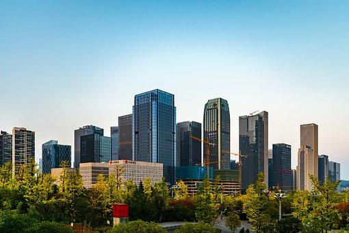 Guizhou, Guiyang, Zhongtian Exhibition City, Building