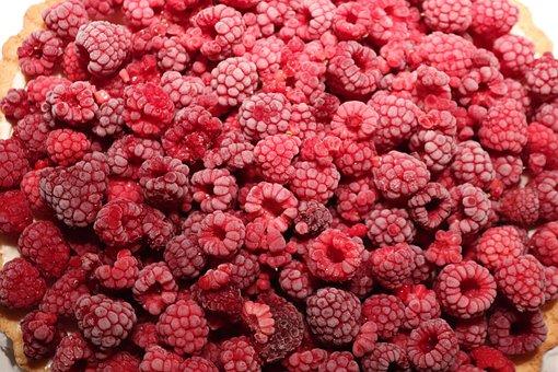 Raspberries, Frozen, Cake, Fruit, Fruits, Vitamins