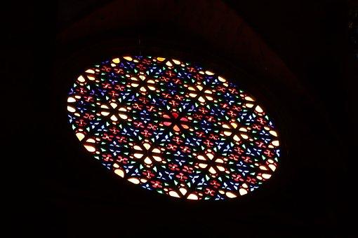 Window, Colorful, Church Window, Glass, Colorful Glass