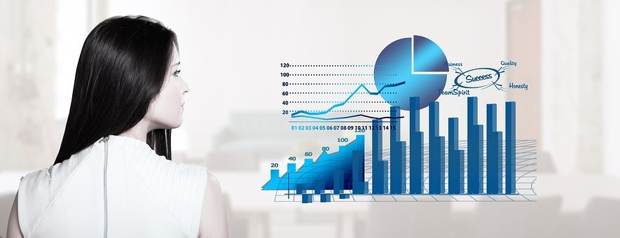 Statistics, Arrows, Trend, Economy, Business, Finance