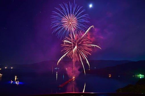 Fireworks, Oki Islands, Japan