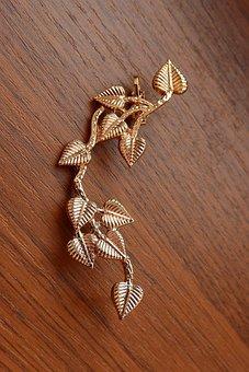 Golden Earring, Big Earrings, Gold Jewelry