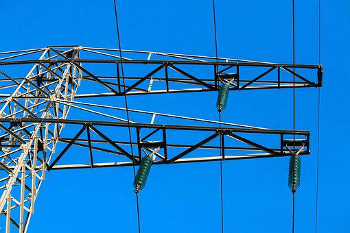 High-voltage Power Line, Frame, Air, Tight