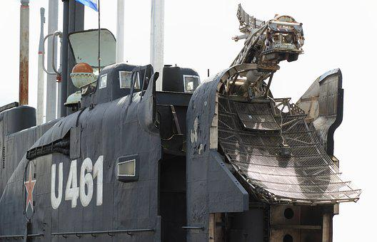 Germany, Peenemunde, Russian, Submarine, Juliet Class