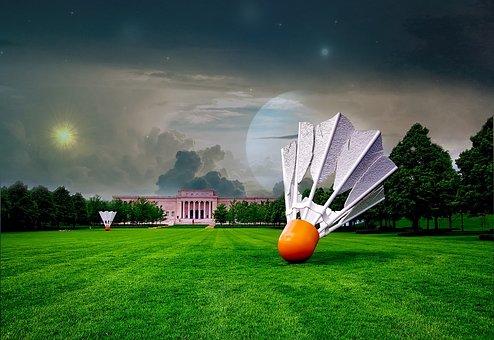 Atkins, Kansas City, Art Gallery, Space, Galaxy