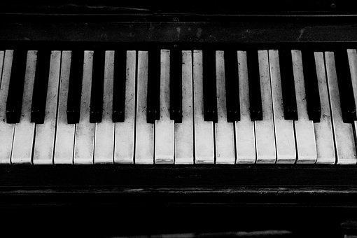 Piano, Old, Grand Piano, Keyboard, Instrument, Music