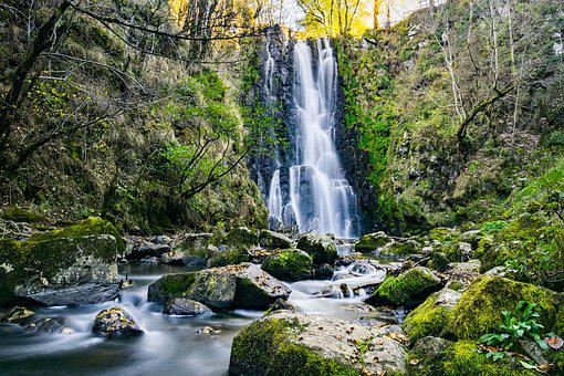 Cascade, Fall, River, Water, Nature, Water Courses
