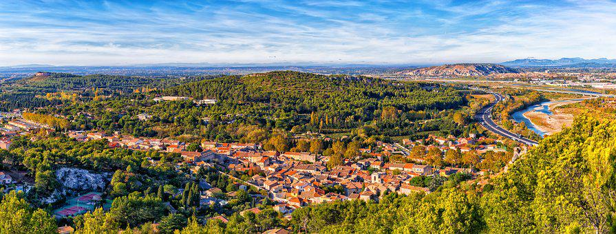 France, Landscape, Panorama, Provence, Vision