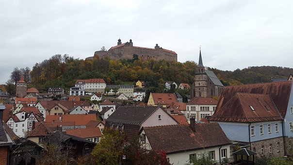 Kulmbach, Castle, Plassenburg Castle, Historically
