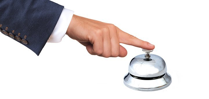 Bell, Sign On, Registration, Reception, Ring The Bell