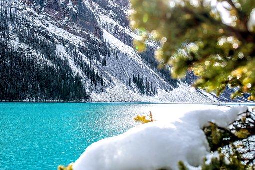Lake, Louise, Canada, Banff, Landscape, Alberta, Rocky