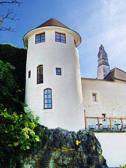 Watchtower, Round Building, Architecture, Austria, Melk
