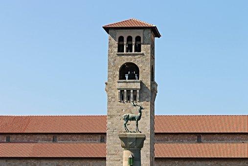 Evangelismos, Church, Steeple, Architecture, Building