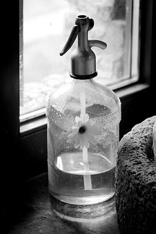 Siphon, Carbonated, Old, Old Glass, Vintage, Village