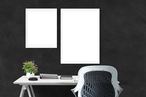 Poster, Wall, Mockup, Interior, Frame, Mock, Gallery