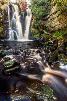 Valley Of Desolation, Waterfall, Yorkshire