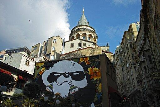 Graffiti, Pictures, Art, Artist, Tower, Architecture