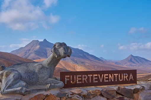 Fuerteventura, Viewpoint, Canary Islands, Blue Sky