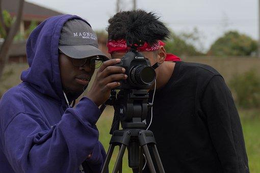 Film, Photo, Shooting, Production, Team, Camera, Canon
