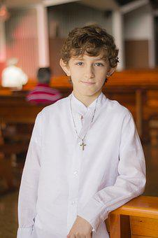 Altar Boy, Church, Catholic, Portrait, Child