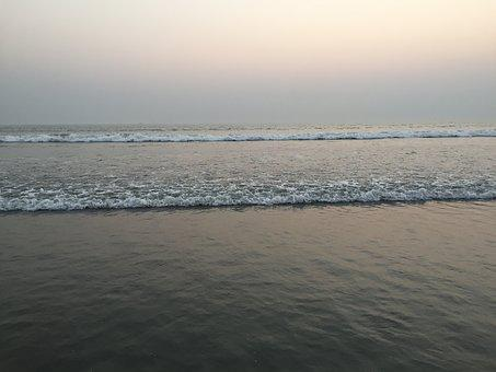 Cox's Bazar, Beach, Sunset, Longest, Sea, Sky, Cox's