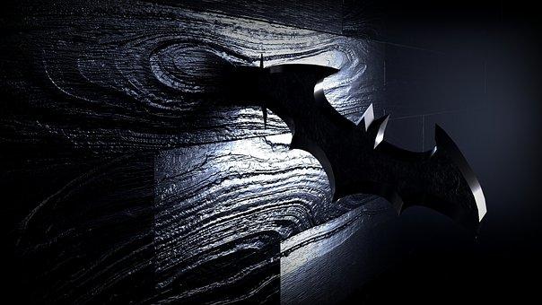 Dark, Black, Night, Wallpaper, Bat, Comic
