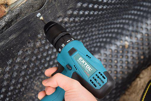 Accumulator Drill, Drill, Battery, Tools, Insulation