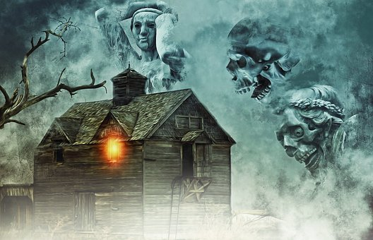 Haunted House, House, Haunted, Halloween, Dead, Death