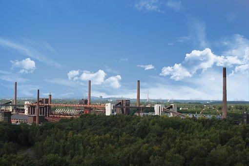 Ruhr Area, Zollverein, Bill, Architecture, Industry