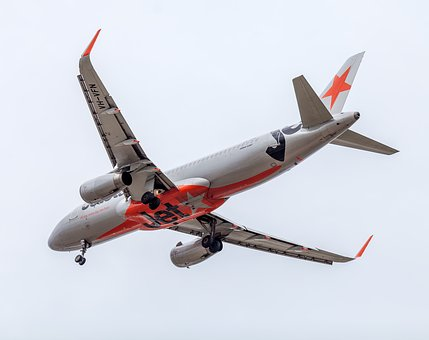 Plane, Passenger Plane, Jetstar, Townsville Airport