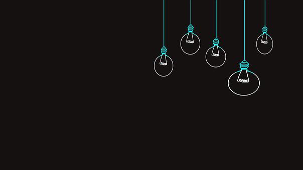 Bulb, Minimal, Wallpaper, Night, Electricity, Lamp