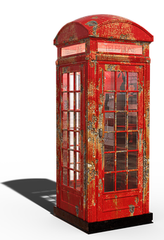 London, Phone Booth, British, City, Red Telephone Box