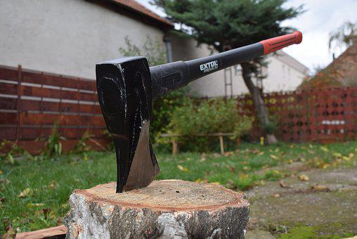 Heavy Axe, Káľačka, Preparation Of The Wood, Winter