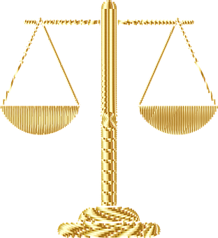 Justice, Scales, Law, Equality, Gold, Shiny, Metallic
