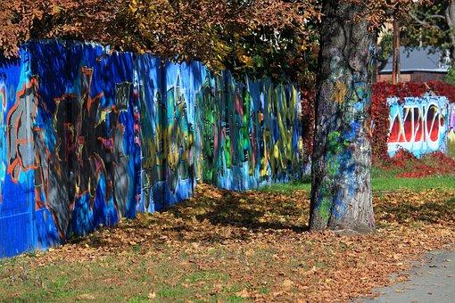 Graffiti, Street Art, Colors, Paint, Spray, Wall, Color
