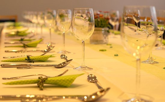 Festival, Table, Cover Table, Banquet Table, Board