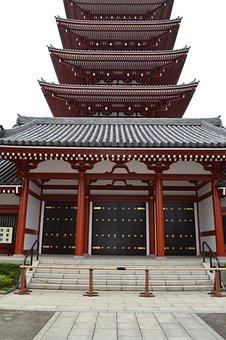 Japan, Temple, Asia, Eastern, East, Spirituality, Zen